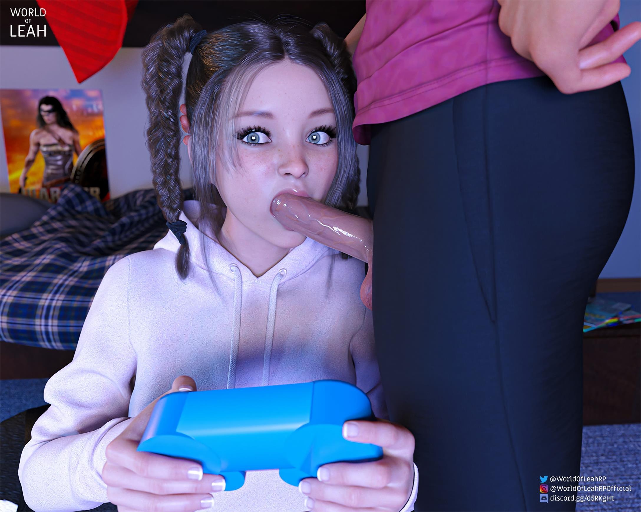 Sexo escola enquanto a nami safada jogava video game
